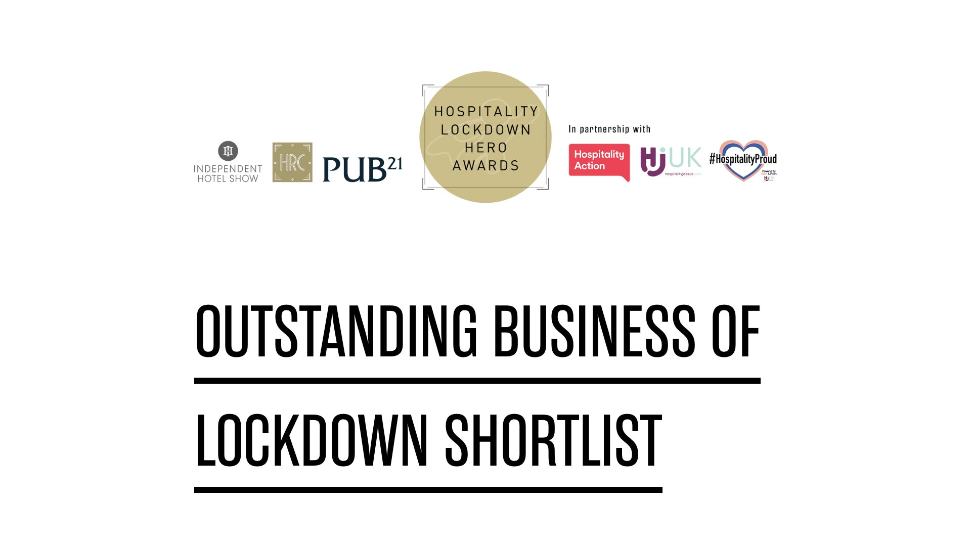 The McCarthy-Dixon Foundation are proud to have been shortlisted as 'Outstanding Business of Lockdown'