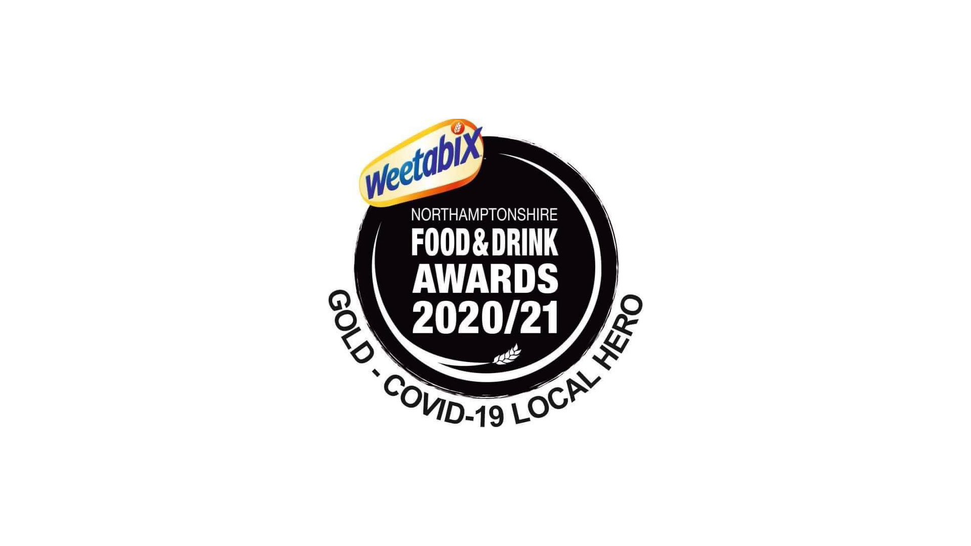 The McCarthy-Dixon Foundation were awarded the Weetabix Northamptonshire Food & Drink Awards 20/21 Gold - COVID-19 Local Hero Award