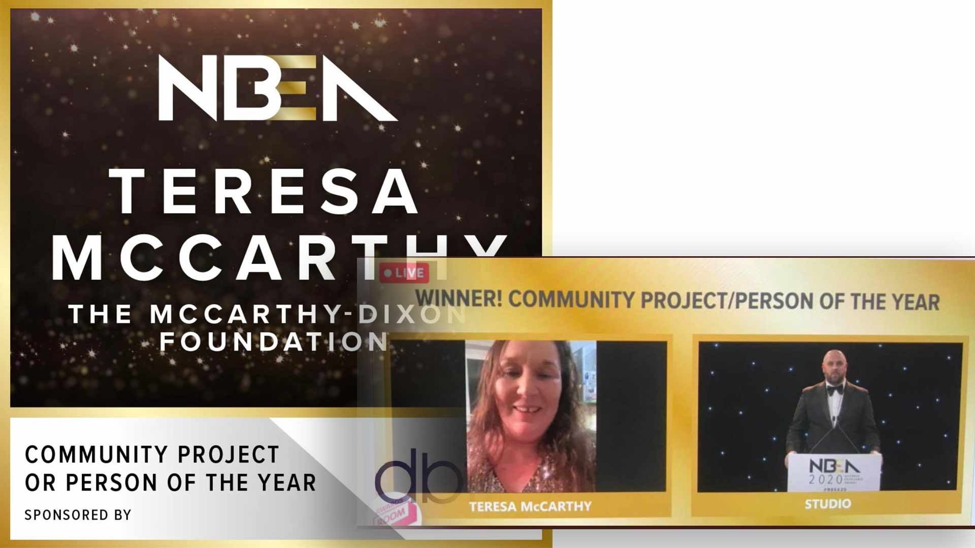 NBEA Community person or project of the year winner 2020