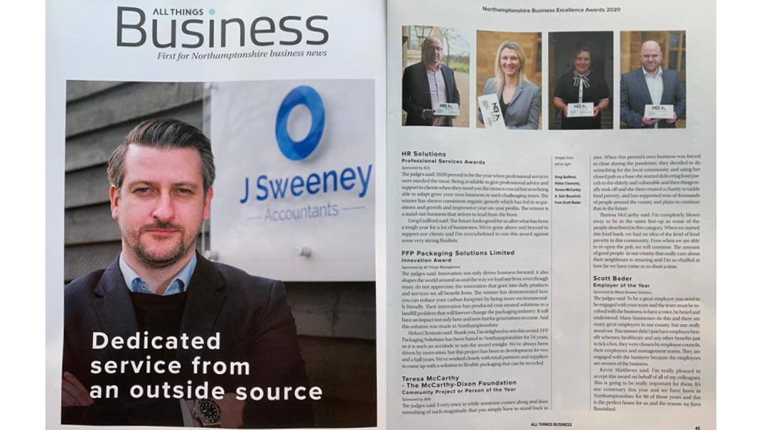 The McCarthy Dixon Foundation features in All Things Business Magazine