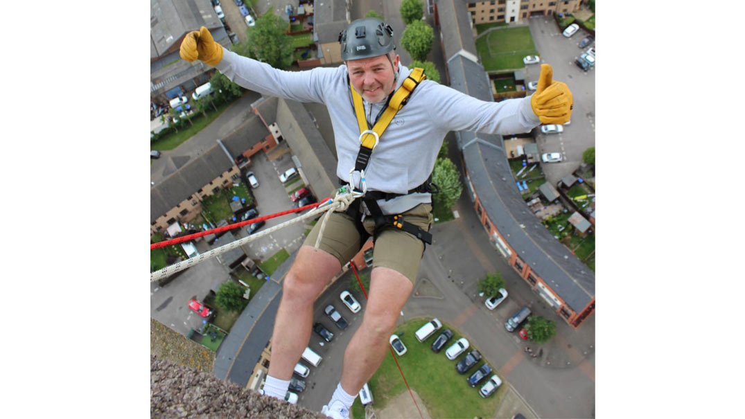 Abseil the Northampton Lift Tower for The McCarthy-Dixon Foundation